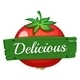 Delicious Wooden Label - GraphicRiver Item for Sale