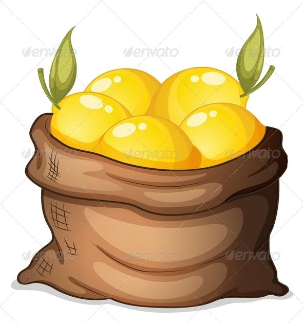 GraphicRiver Sack of Lemon 7969100
