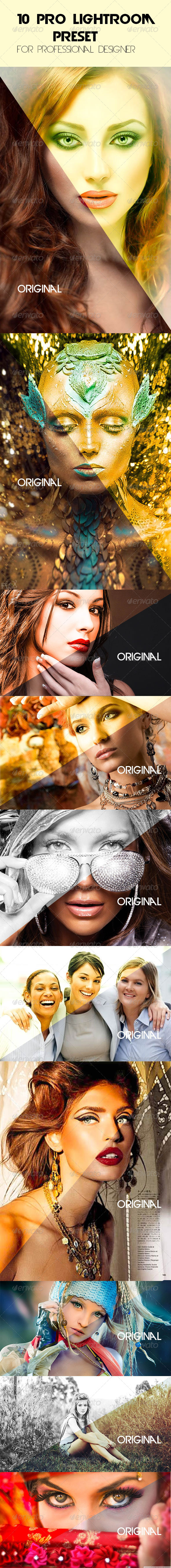GraphicRiver 10 Pro Lightroom Preset 7969205