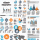 Minimal Ultimate infographic Vector Elements - GraphicRiver Item for Sale