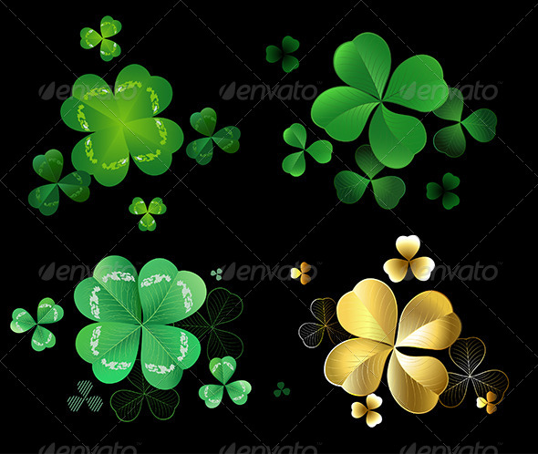 GraphicRiver Set of Clover 7969594
