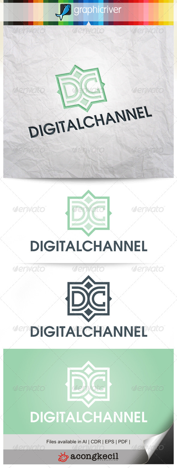 GraphicRiver Digital Channel V.2 7969780