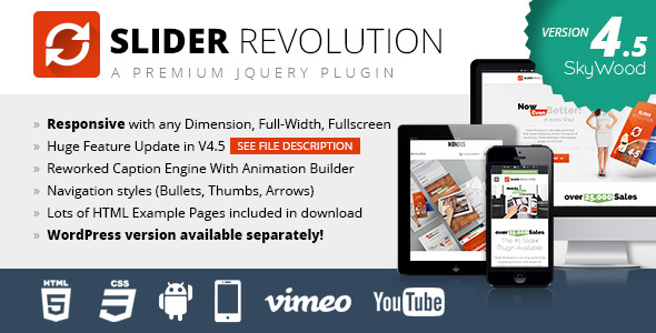 Slider Revolution Responsive jQuery Plugin Version 4.6.0  (20.08.2014)