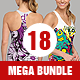 Mega Clothing Mockup Bundle - GraphicRiver Item for Sale