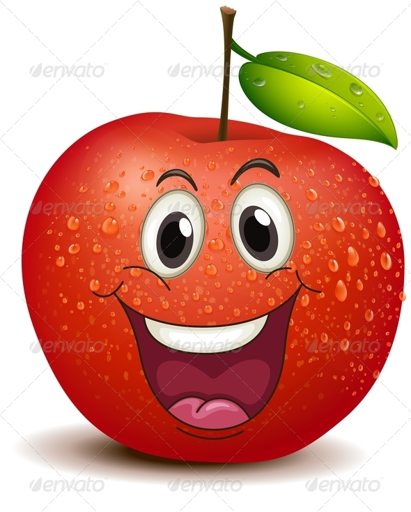 GraphicRiver A Smiling Apple 7970446