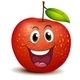 A Smiling Apple - GraphicRiver Item for Sale