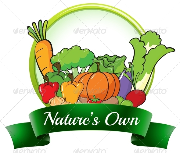 GraphicRiver Nature s Own Label 7970554