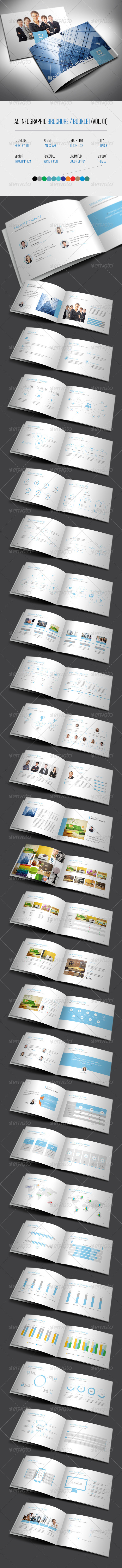 Infographic Brochure / Booklet (Vol. 01) - Corporate Brochures