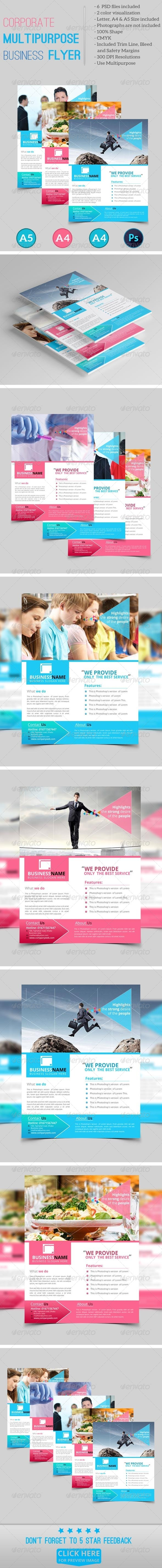 GraphicRiver Corporate Multipurpose Business Flyer vol.04 7971457