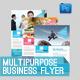 Corporate Multipurpose Business Flyer vol.04 - GraphicRiver Item for Sale