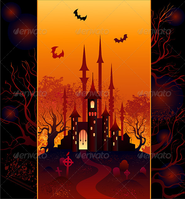 GraphicRiver Design for Halloween 7972135