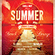 Summer Lounge Flyer Template - GraphicRiver Item for Sale