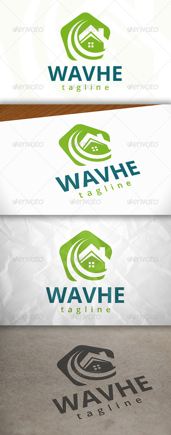 GraphicRiver Fresh House Logo 7972421