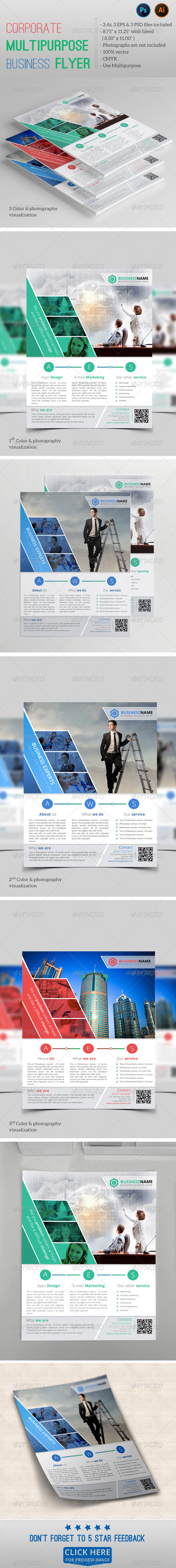 GraphicRiver Corporate Multipurpose Business Flyer vol.03 7946172