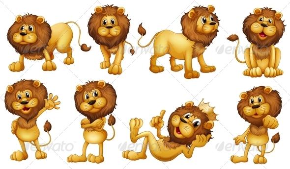 GraphicRiver Lions 7972499