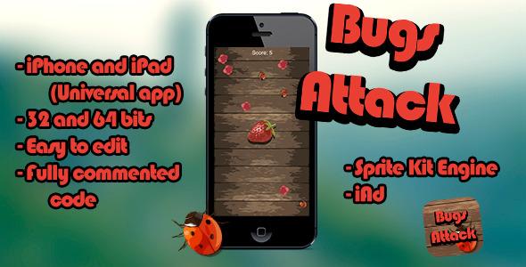 CodeCanyon Bugs Attack 7972564