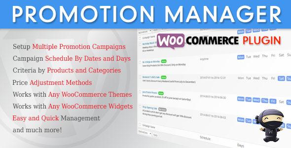 CodeCanyon WooCommerce Promotion Manager 7945003