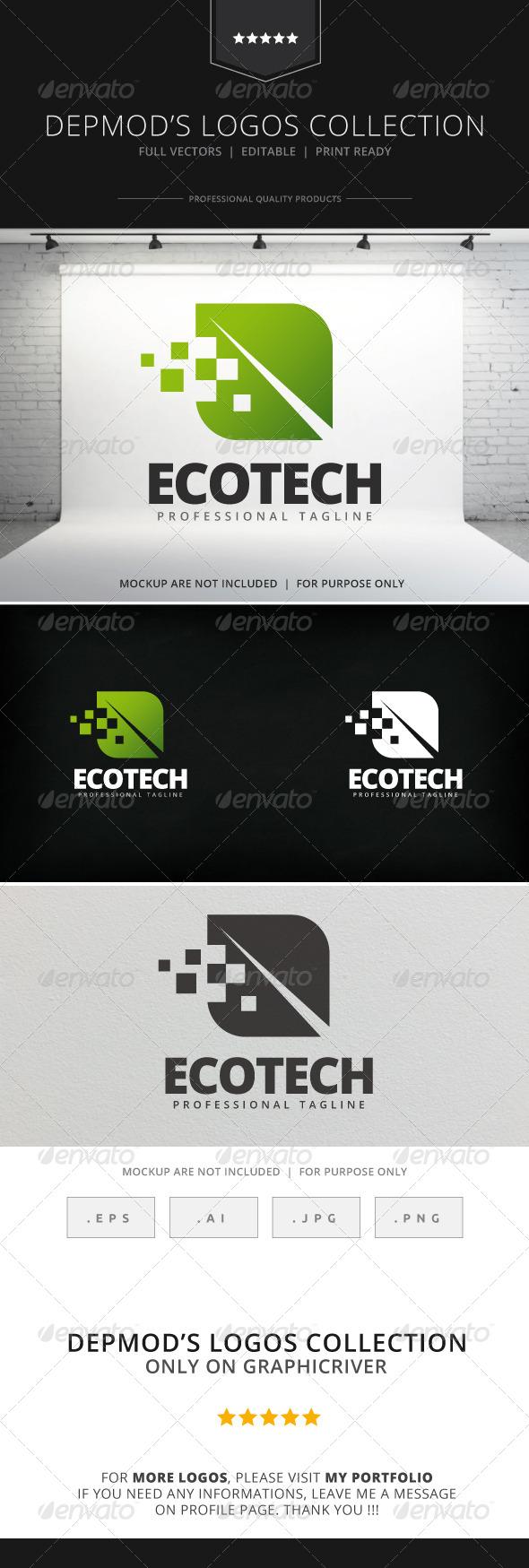GraphicRiver Ecotech Logo 7972674