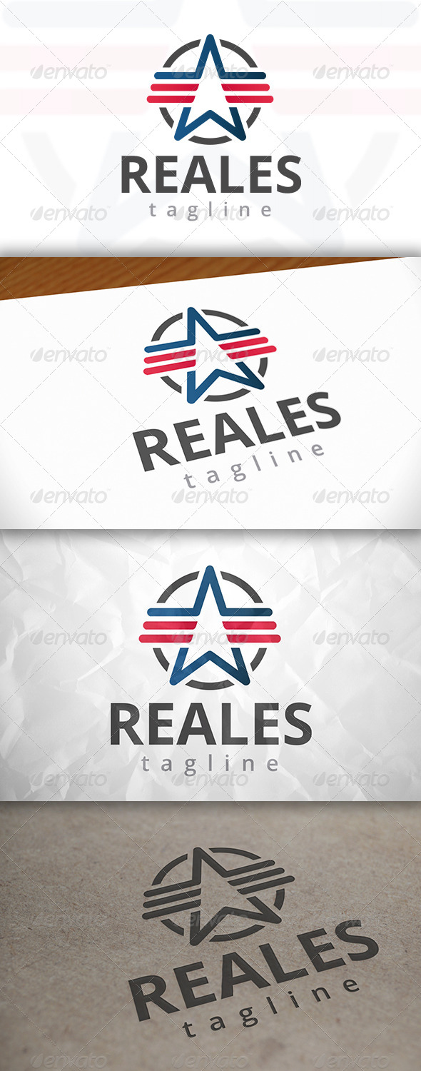 GraphicRiver Real Star Logo 7972694