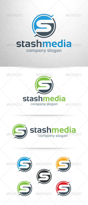 GraphicRiver Stash Media Letter S Logo 7972803