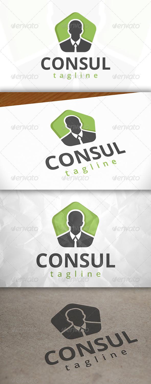 GraphicRiver Consultant Logo 7972934