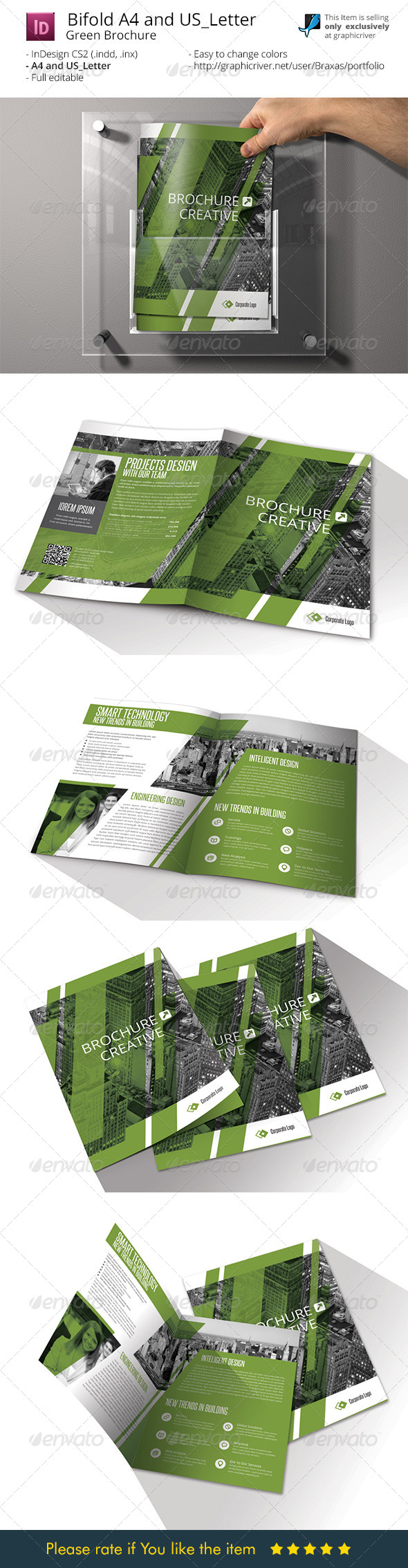 GraphicRiver Brochure Bifold A4 and US Letter 7973025