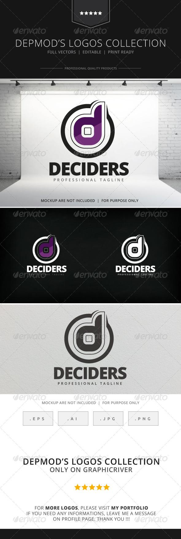 GraphicRiver Deciders Logo 7973060