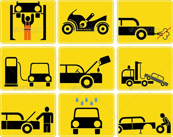 GraphicRiver Auto Service 7973138