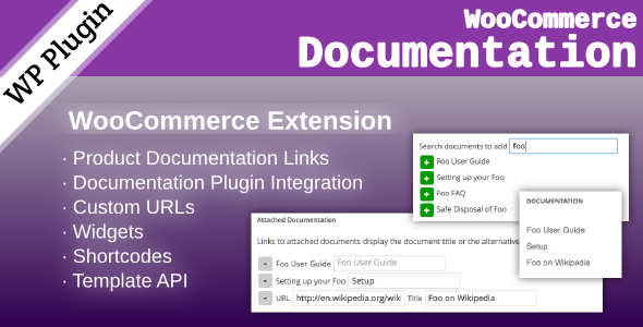 CodeCanyon WooCommerce Documentation 7973200