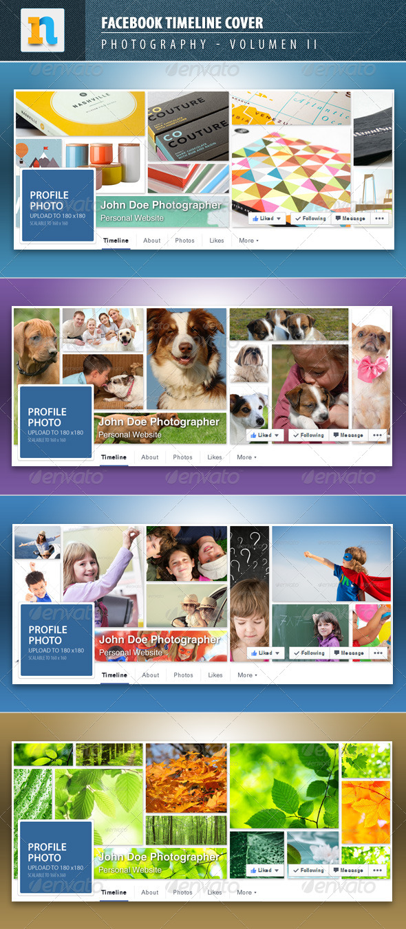 GraphicRiver Facebook Timeline Covers Volume 2 7973553