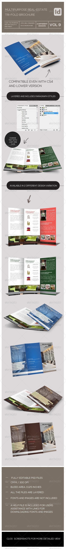 GraphicRiver Tri-Fold Real Estate Brochure 7973557