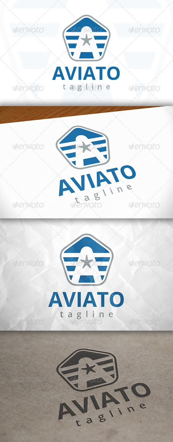 GraphicRiver Aviator Logo 7973898