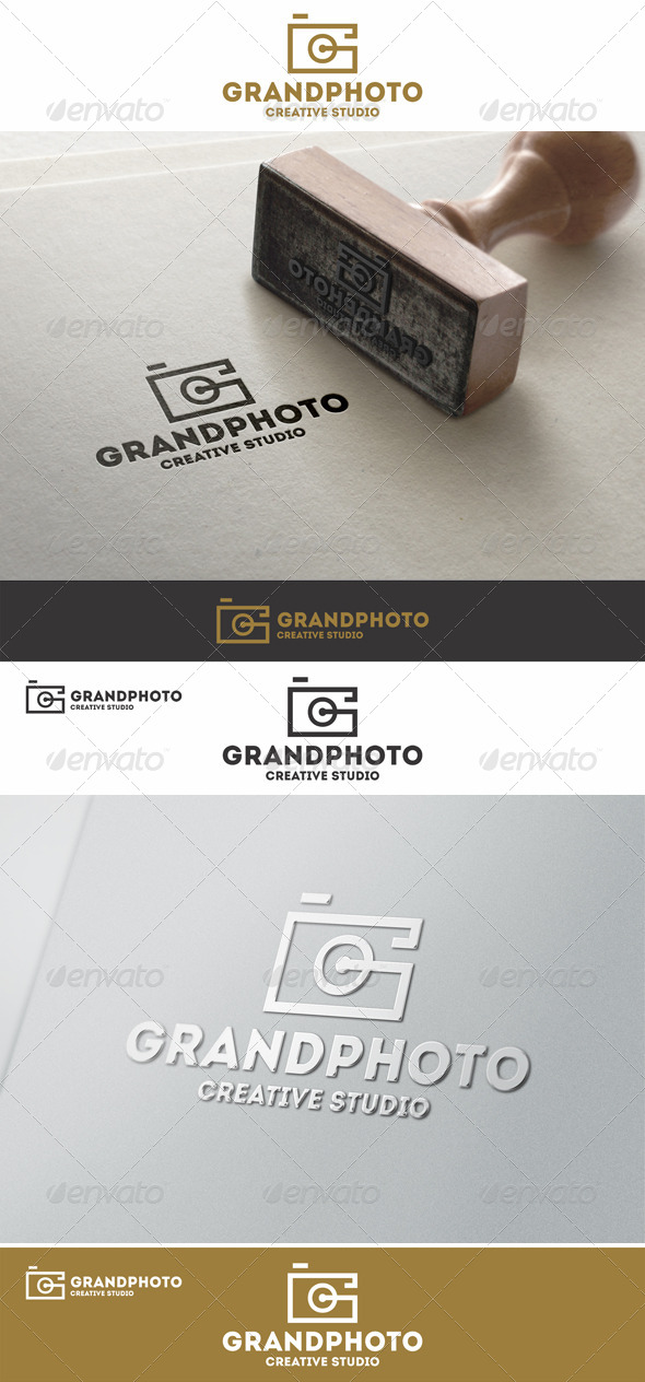 GraphicRiver Grand Photo Logo G Letter 7973909