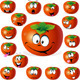 Persimmon Fruit Cartoon  - GraphicRiver Item for Sale
