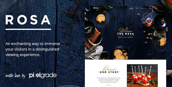 ROSA - An Exquisite Restaurant WordPress Theme - Food Retail