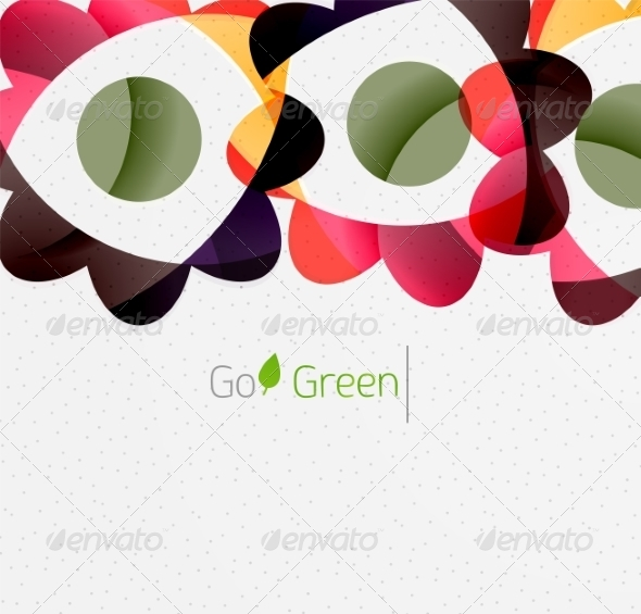 GraphicRiver Green Eco Background 7974048