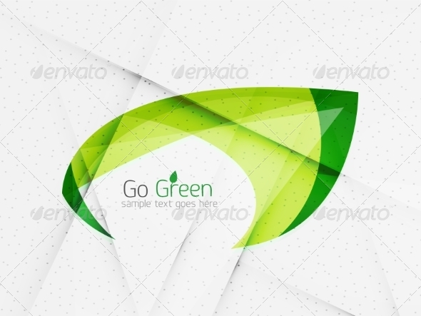 GraphicRiver Green Eco Background 7974054