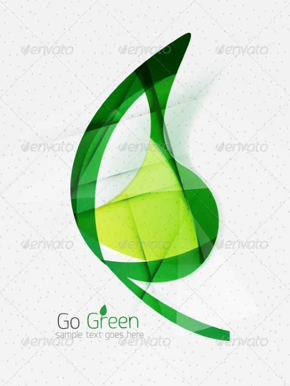 GraphicRiver Green Eco Background 7974055