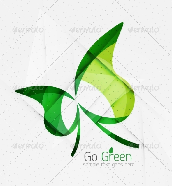 GraphicRiver Green Eco Background 7974056
