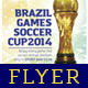 Brazil Games SC14 Flyer Template - GraphicRiver Item for Sale