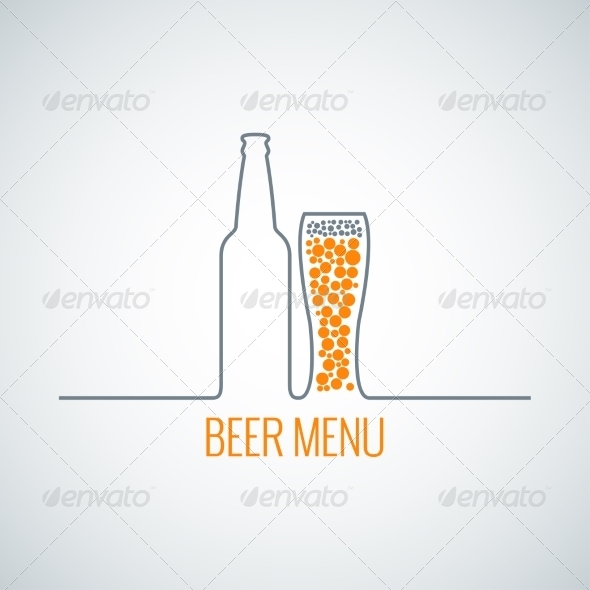 GraphicRiver Beer Menu Background 7974140