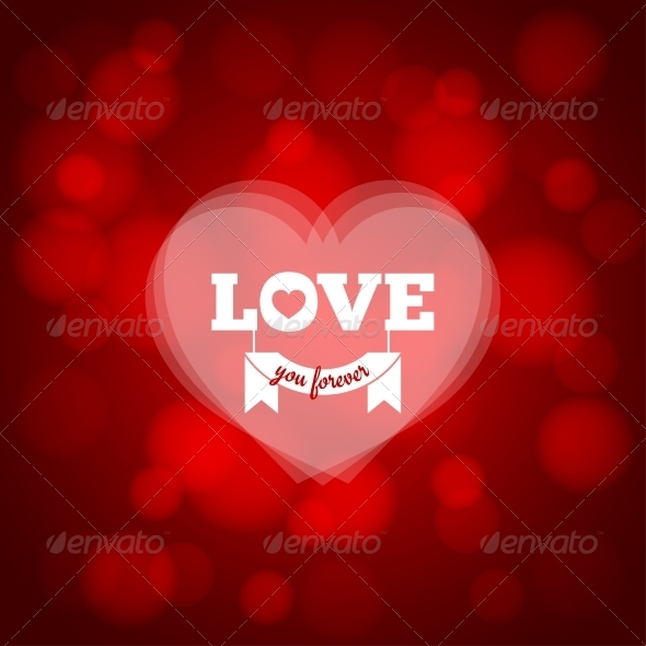 GraphicRiver Love Heart Background 7974148