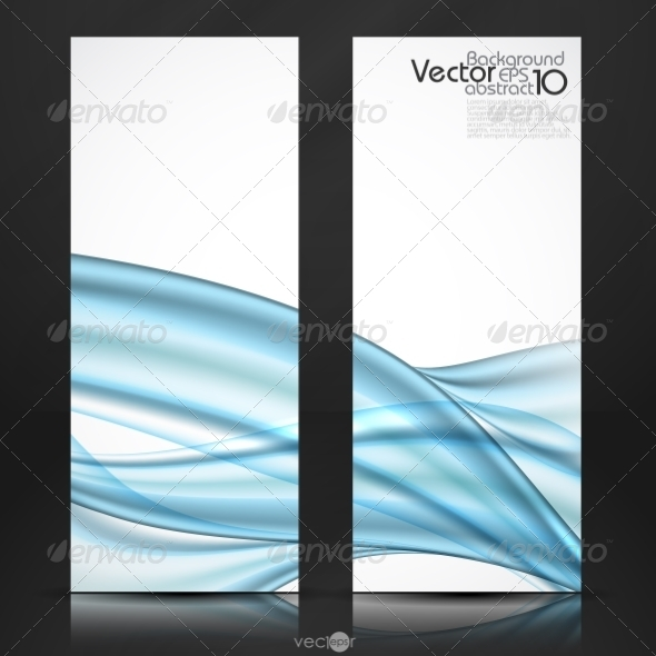 GraphicRiver Abstract Blue Wavy Background 7974169