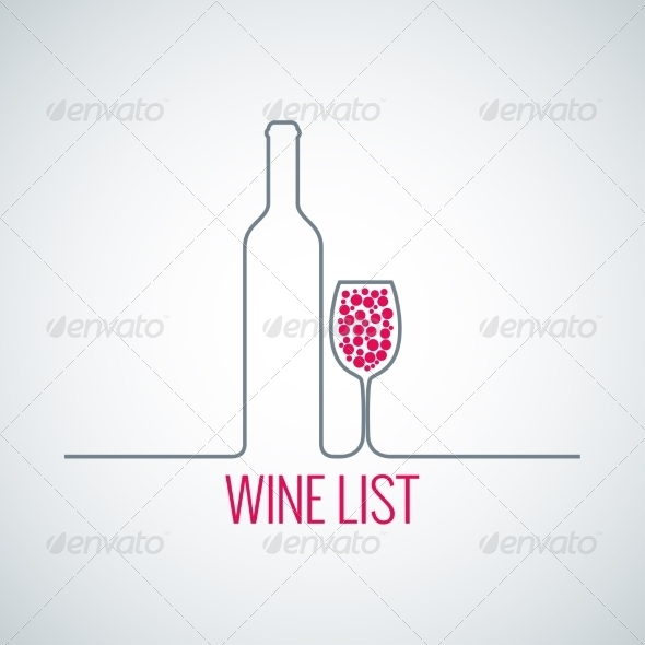 Wine List Background