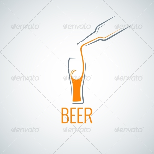 GraphicRiver Beer Glass Background 7974226