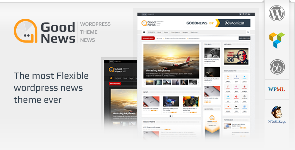 Responsive WP News theme