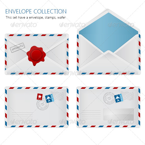 GraphicRiver Envelope Collection 7972651