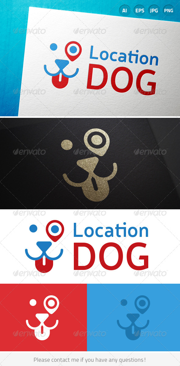 GraphicRiver Location Dog 7974316