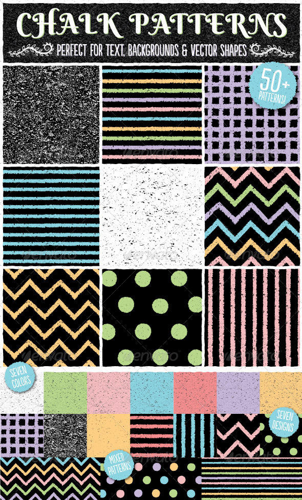 GraphicRiver Chalk Patterns 7974375
