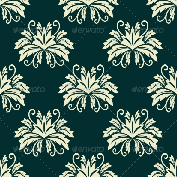 GraphicRiver Floral Seamless 7974604